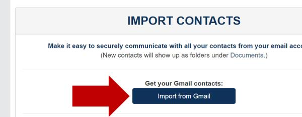 Import Contacts from Gmail Directly - Encyro Inc