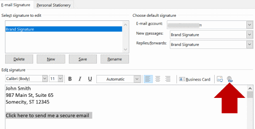 Use My Email Signature to Receive Securely - Encyro Inc